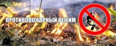 С 28 апреля 2018 года объявлен особый противопожарный режим
