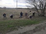20 апреля 2019 года на территории Пыховского селського поселения прошел общеобластной экологический субботник.