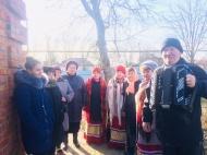 15.02.19г.  Поздравление с 88-м Днем Рождения Науменко Анну Ивановну