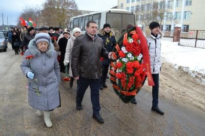 77-ая годовщина освобождения Дзержинского района от немецко-фашистских захватчиков.