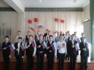 в с.Воронцовка прошла районная военно-патриотической акции «Песни о защитниках Отечества».