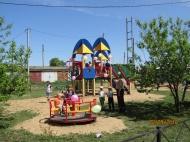 Открытие детской игровой площадки -  «Космодром»