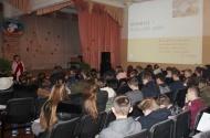 5 декабря 2018 года в актовом зале МКОУ «Каширская СОШ» состоялся показ полнометражного документального фильма о добровольцах «#ЯВолонтер. Истории неравнодушных»
