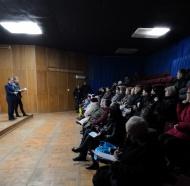 27 декабря 2018 г. а здании Поселковой Управы ГП «Поселок Товарково» прошло собрание жителей проживающих в аварийном жилом фонде.