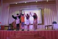 27 марта на сцене нашего ДК прошла театрально – мультимедийная постановка «Кошкин Дом»