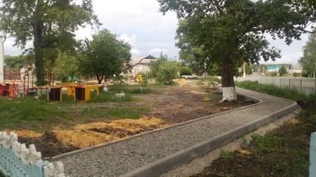 О строительстве сквере на ул.Чкалова в с.Воробьевка