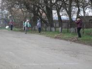 8 апреля в селе Хохол-Тростянка прошел субботник