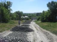 В Дерезовском сельском поселении проводится ремонт дороги местного значения