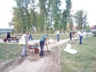 31.08.18 на территории сквера Памяти прошел массовый субботник
