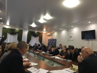 В малом зале администрации Каширского муниципального района состоялось еженедельное рабочее совещание
