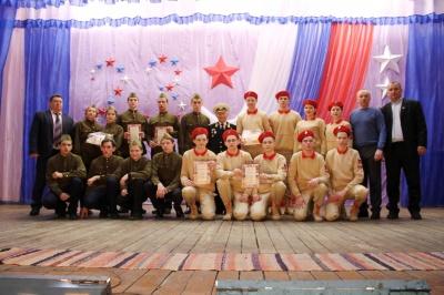 Праздничное мероприятие посвящённое Дню Защитника Отечества.