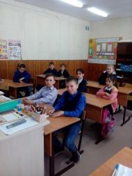Накануне Дня Победы, школьники нашего поселения погрузились в эпоху военного времени