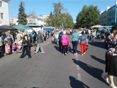 Каширцы приняли участие в сельскохозяйственной ярмарке в г. Нововоронеж