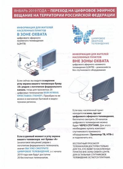«Развитие телерадиовещания в Российской Федерации на 2009-2018 годы»