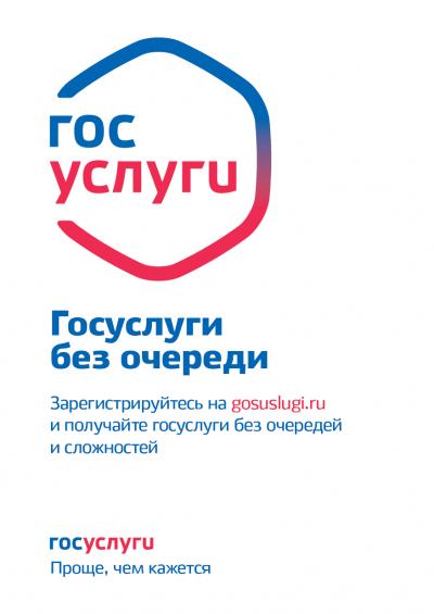 Постер Госуслуги
