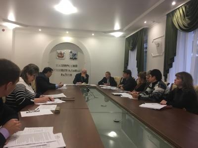 18 декабря  2017г. при участии представителей департамента экономического развития Воронежской области  состоялось заседание комиссии по мобилизации  доходов в консолидированный бюджет района