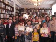 Золотой  детский фонд читателей Семеновской   сельской библиотеки 2014 года
