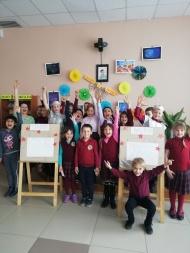 В День космонавтики, в ДК «Лира», прошла познавательная конкурсно-игровая программа «Полет к звездам»