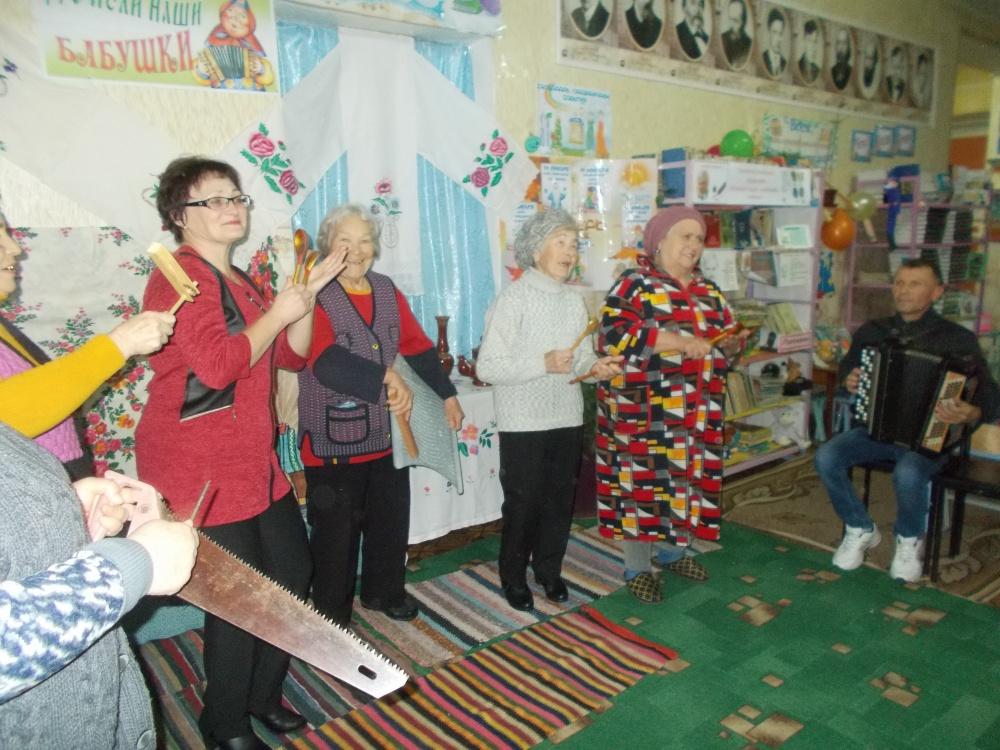 Фольклорные посиделки «Что пели наши бабушки»