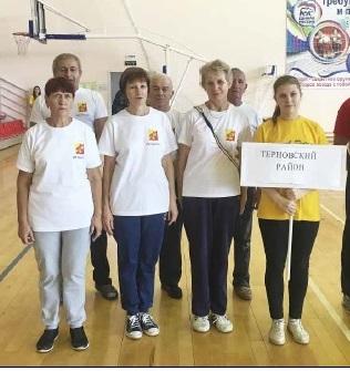 Пенсионеры из Терновки побывали на фестивале ГТО в Поворино