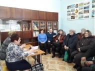 13.02.2019 состоялась встреча главы администрации МО Новольвовское с жителями села Краснополье