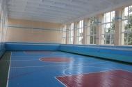 В Муниципальном учреждении «Сельский Дом Культуры станицы Камышеватской» закончился ремонт спортивного зала