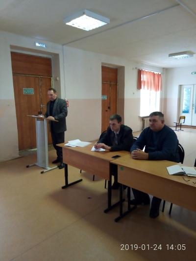 24 января состоялся отчет главы  Краснологского сельского поселения о результатах своей деятельности  и деятельности администрации Краснологского сельского поселения  за 2018 год