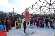 В Петровском поселении весело прошли гулянья на Масленицу, гости приезжали со всего района