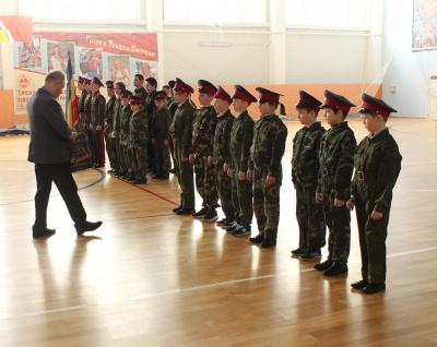 9 марта  2019 года   в спортивно-оздоровительном комплексе «Каширский»  прошла церемония принятия торжественной присяги кадетов центра детского творчества, воспитанников   Каширского казачьего кадетского класса