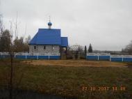 На часовне в с. Почепское установлен купол.