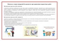 Памятка о мерах пожарной безопасности при проведении окрасочных работ