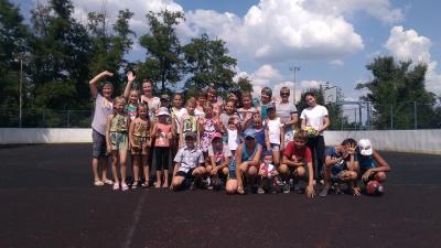 В  поселке имени Дзержинского прошли спортивные состязания среди детей, подростков и молодежи
