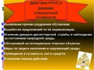 ВВЕДЕН РЕЖИМ ПОВЫШЕННОЙ ГОТОВНОСТИ для сил ТП РСЧС района