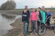 В рамках празднования «Дня земли» дети-активисты наше Дома культуры совершили велопробег