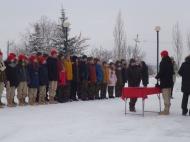 Церемония посвящения в ряды Всероссийского военно-патриотического движения «Юнармия»