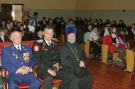 14 февраля в Доме культуры с. Воронцовка прошел Час Мужества « Солдат войны не выбирает».