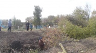 Убрана территория кладбища в с.Шукавка