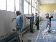 Ремонт спортивного зала Дома культуры станицы Камышеватской