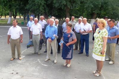 делегация Воронежского областного совета ветеранов войны, труда, вооруженных сил и правоохранительных органов