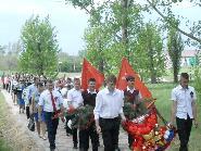 9 мая в Акчернском сельском поселении  были организованы мероприятия  празднования Дня Победы