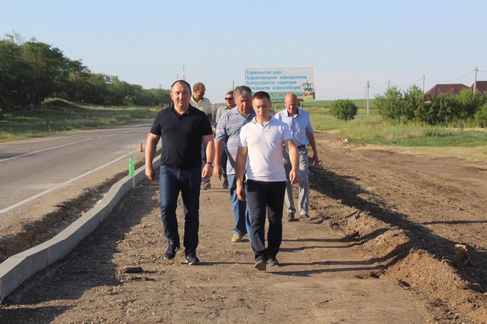 16 июня состоялось выездное совещании по строительству школы по ул. Ветвистой