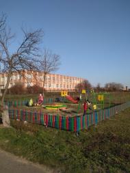Установка ограждения вокруг  детской площадки в с. Воронцовка