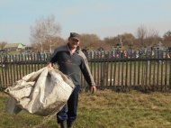 Субботник на кладбище п.Михинский