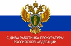 С Днём работника прокуратуры Российской Федерации!