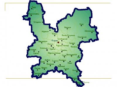 Внесены сведения о границах муниципальных образований Кировской области