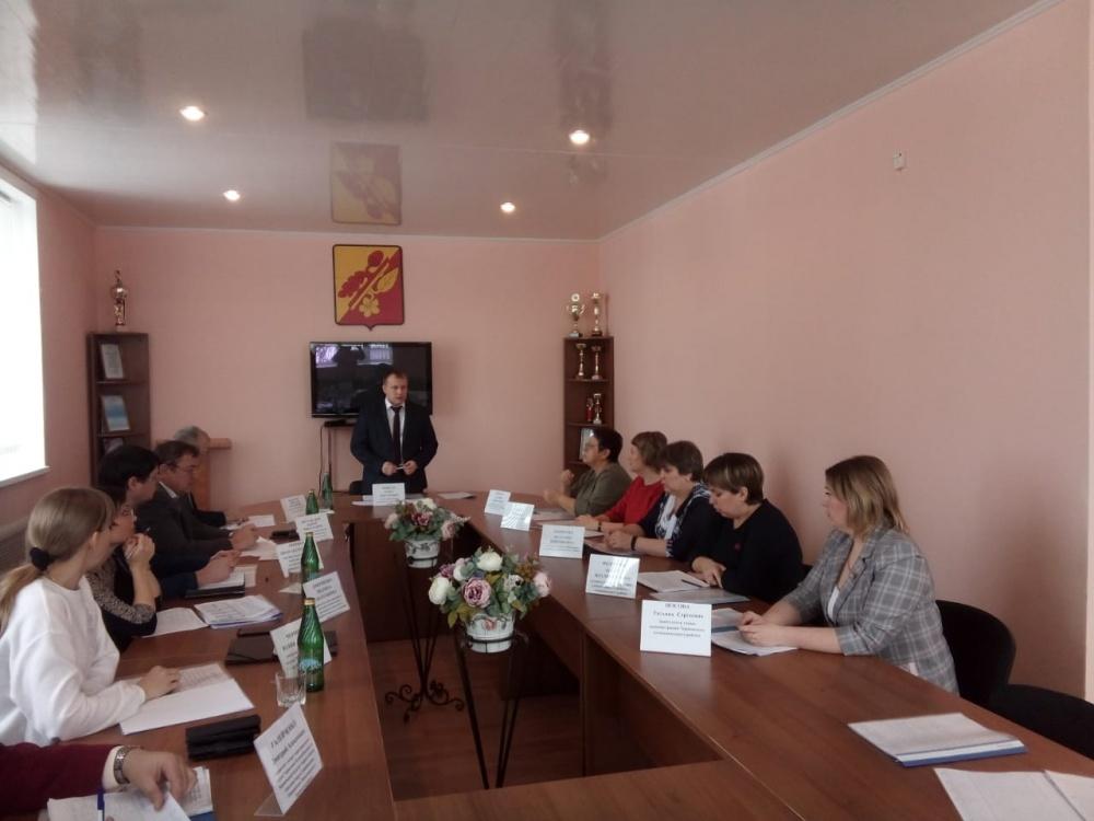 Отчет глав администраций сельских поселений  Терновского  муниципального района