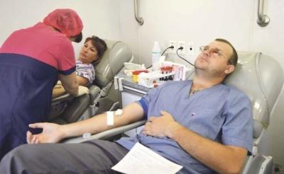 В Терновку приехала  мобильная станция переливания крови
