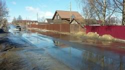 Правила поведения при угрозе подтопления и подтоплении дворовых территорий