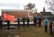 Информация о проведении митинга и театрализованного представления посвященного 76-летию освобождения хутора Греки.