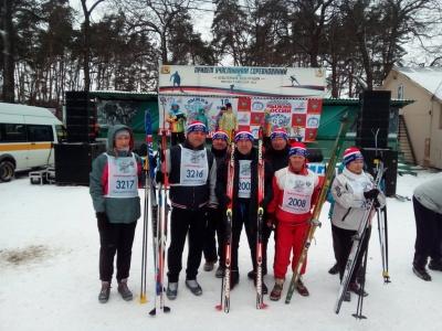 Тренеры Каширской ДЮСШ участвовали в забеге «Лыжня России-2018»